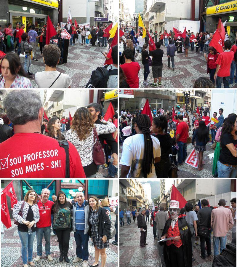 fotos manifestação 29 de maio