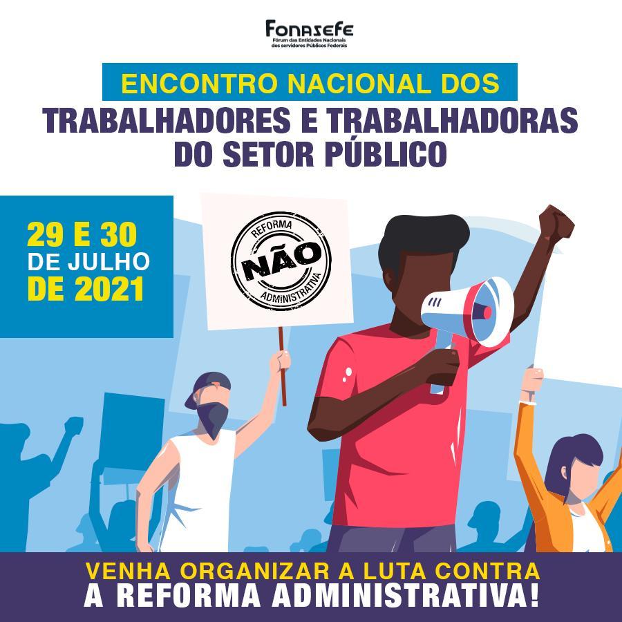 Encontro Nacional dos Trabalhadores e Trabalhadoras do Setor Público começa amanhã