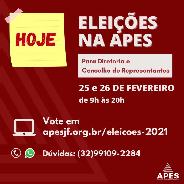 Eleições na APES: acessa aqui todas as informações!