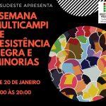 """Servidores do IF Sudeste MG promovem """"I Semana Multicampi de Resistência Negra e Minorias"""""""