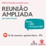 APES e Sinasefe realizam Reunião Ampliada