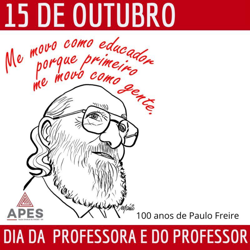 Read more about the article APES realiza Live para comemorar o dia das professoras e dos professores